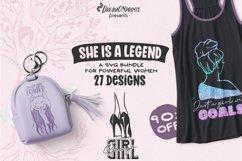Strong Woman SVG Bundle   Boss Lady SVG Bundle Product Image 1