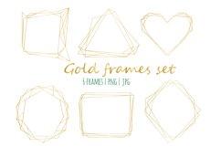 Gold frames set Product Image 1