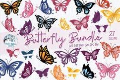 Butterfly SVG Bundle   27 Butterfly SVGs Product Image 1