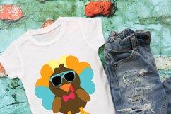 Cool Turkey SVG Design Product Image 2