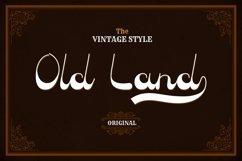 Old Land - Old Vintage Font Product Image 1