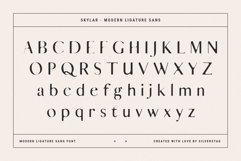 skylar - ligature sans font family Product Image 2