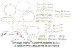 Christmas Wreath Clip Art Product Image 3