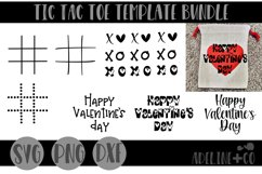 Tic tac toe template bundle Product Image 1