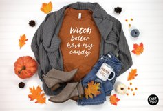 WITCHY a Distressed Halloween Script Product Image 5