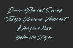 Amores Brush Signature Handmade Font Typeface Product Image 5