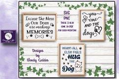 Dog SVG - Dog Lover Bundle - 9 SVG & PNG & 6 bonus PDFs Product Image 4