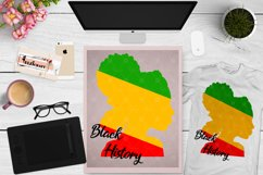 Afro Woman, Remember your roots, Black History Month SVG Product Image 1