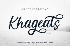 Khageats Script Product Image 1