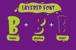 Kids Zone // Layered Font Product Image 2