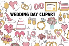 Wedding Day Clipart Product Image 1