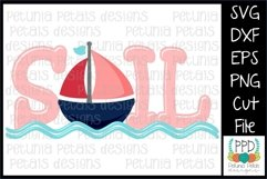 Sailboat SVG 11275 Product Image 1