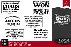 Sun Tzu quotes from The Art of War - SVG & Cut Files Product Image 1