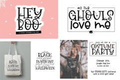 Font Bundle - Handwritten Fonts for Crafters - Halloween Product Image 3