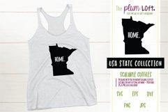 Minnesota Home - SVG design Product Image 1