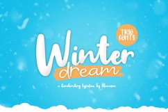 Winter Dream Trio Font Product Image 1
