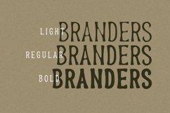 Branders - Condensed Handmade Font Product Image 4