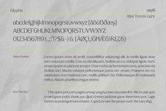 Afjat Trends - Latin, Cyrillic & Greek Product Image 6