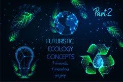 Futuristic ecology concepts, Part2. Product Image 1