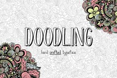 Doodling - hand crafted typeface Product Image 1