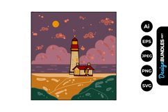 Lighthouse Clipart Product Image 1