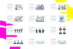 Update! Bundle 77 Pack Flat illustration PPT Product Image 6