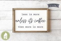 Funny Coffee SVG, Kitchen SVG, Farmhouse SVG Product Image 1