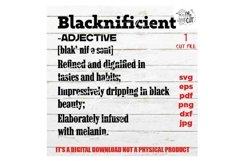 blacknificient definition svg, facts svg, Black Queen, Product Image 3
