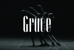 GRACE, A Sophisticated Typeface Product Image 4