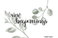 Home Sweet Home - a smooth handwritten script font Product Image 5