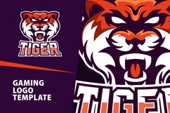 Tiger Gaming Logo Template Product Image 1