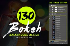 130 Bokeh Photoshop Action Product Image 5