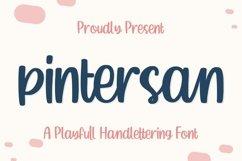 Pintersan - Handlettering Font Product Image 1
