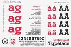 Asherah - Serif font family Product Image 4