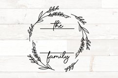 Vol 2 - Family Monogram Sign Bundle Floral Product Image 7