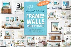 Frames & Walls Coastal Mockups Bundle Product Image 1