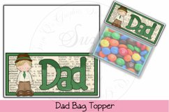 Dad Bag Topper Product Image 1
