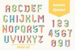 Isometric geometric letters Product Image 1