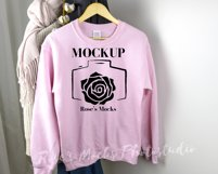 Gildan Sweatshirt Mockup Bundle - Gildan 18000 Mock Up Product Image 6