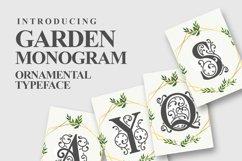 Garden Monogram Font Product Image 1