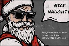 Naughty Santa, Christmas T Shirt Design, Christmas Clipart Product Image 3