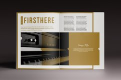 The Golden Magazine Indesign Template Product Image 3