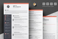 Resume / CV Template Product Image 4