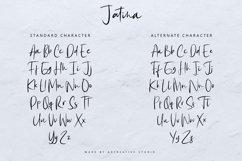 Jatina - Dynamic Signature Font Product Image 6