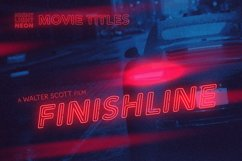 Night Light Neon Font - Inline Product Image 5