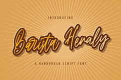 Barista Heraly - Handwritten Font Product Image 1