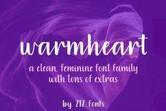 Warmheart Font Family Script, Serif, Alternates & Swash Product Image 1