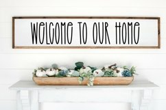 Web Font Beauty In Bloom - A Tall Handlettered Font Product Image 4