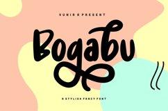 Bogabu   A Stylish Fancy Font Product Image 1