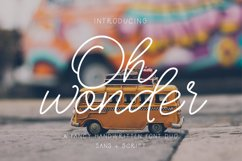 Oh Wonder Font Duo Product Image 1